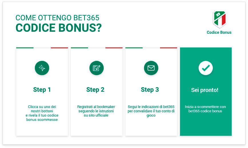 Características de codigo bonus Bet365.
